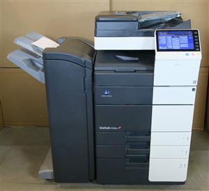 konica minolta bizhub c554e printer used for sale
