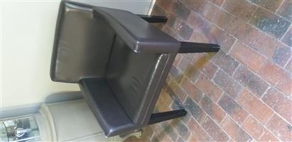 Weylands leather chairs