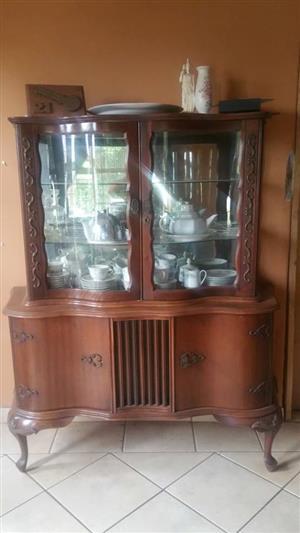 Antieke display kas te koop