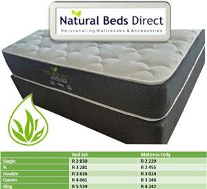MATTRESSES = THE HOTELIER DOUBLE BED & BED SETS