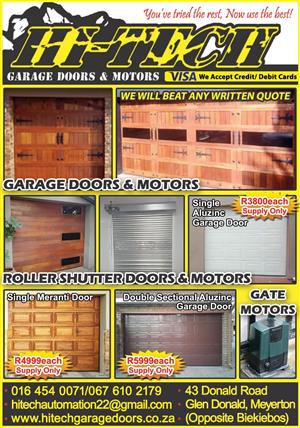 Garage Doors Mega Specials