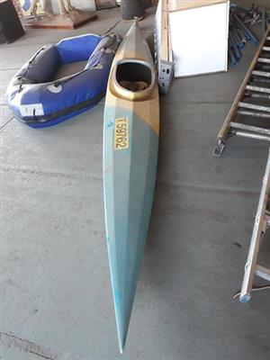 Larger kayak and tube for sale