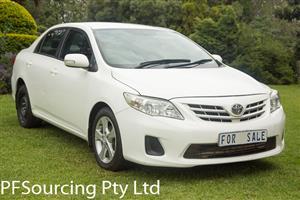 2012 Toyota Corolla 1.6 Advanced automatic