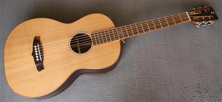 Tanglewood JAVA Parlour Guitar (TWJPE) - Amara Ebony - Stunner! (NEW)