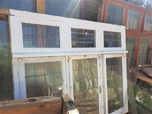 Lead glass windows