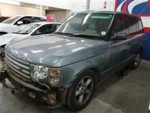 2003 Land Rover Range Rover Td6 HSE Code 2