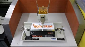 New Smart A2 Guillotine.....  Max Cutting Size............520  Max Cutting Thickness....65mm  Electronic Keypad LED Display