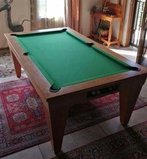 Pool Table (Hardly used)