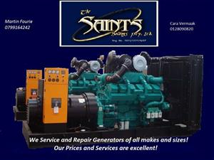 Specialist Generator Service and Repair