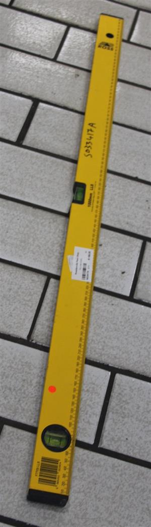 Yellow spirit level S033417A #Rosettenvillepawnshop
