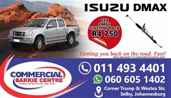 isuzu dmax 4x4 steering rack