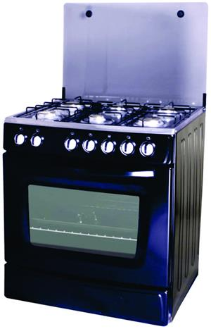 Totai 6 burner gas stove with gas oven - Auto ignition - R200 courier country wide