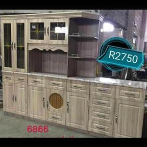 Light wooden kitchen unit for sale