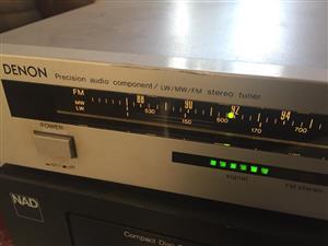 Denon TU-710 Analogue precision Audio component LW/MW/FM Stereo tuner
