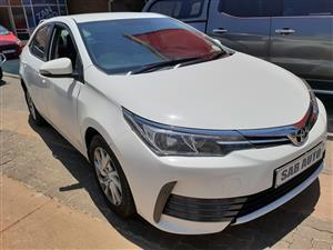 2018 Toyota Corolla 1.3 Advanced