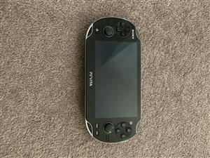 Sony Ps Vita 3G WiFi game console in good condition 4gb memory card