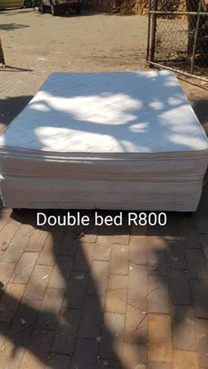 Double bed (Used)