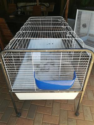 used cage in good condition and 1 brand new cage