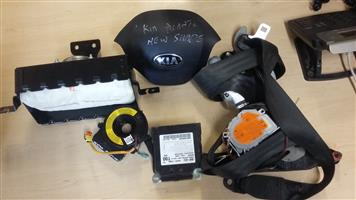 Kia Picanto Complete Air Bag set