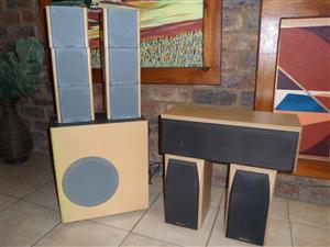 Sansui Surround Speaker System.