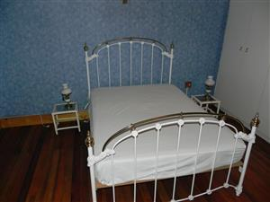 Double & Queen bed - moving on sale