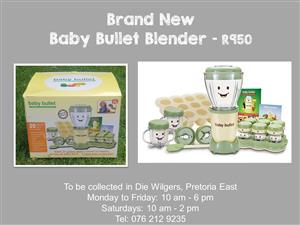 Brand New Baby Bullet Blender