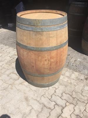 9l Miniature Cask & 225l Used Wine Barrel x2