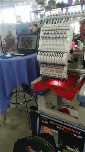 GALAXY Industrial embroidery machine
