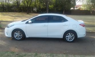 2014 Toyota Corolla 1.8 Exclusive automatic