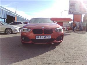 2018 BMW 1 Series 120i 5 door M Sport sports auto
