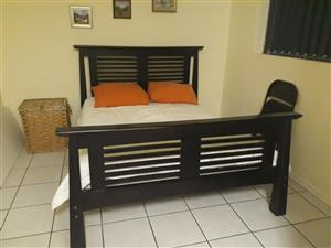 KING SIZE JAPANESE LACQUERED BED