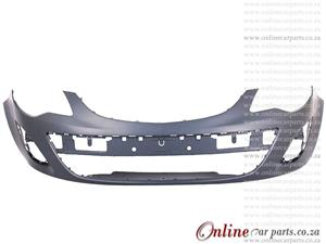 Opel Corsa 10-14 Front Bumper With Fog Head Light