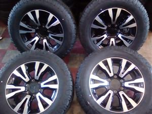 Isuzu rims and tyre