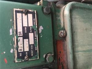 Lister Motor & Generator - 3.7KW - Diesel