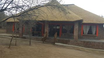 Lovely New Bush House For Sale in Marloth Park 100 metres from Crocodile River/Kruger Park