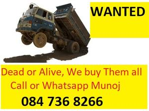 We Buy Trucks , Running, Non Running or Accident Damaged Countrywide #TRUCKBUYERS0847368266