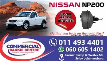 nissan np200 brake booster