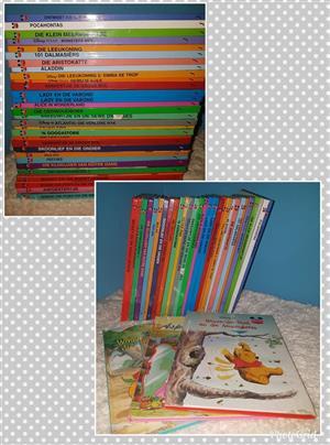 Various Afrikaans kiddies story books