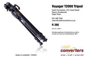 Voyager T2000 Tripod