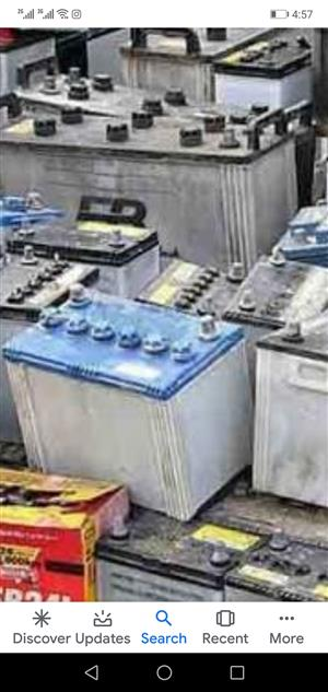 SCRAP BATTERIES Bought CASH - Truck, Car, UPS Lead Acid Battery Buyers LARGE loads KZN  Durban Gauteng