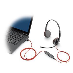 Plantronics Blackwire C3220 Binaural Corded Headset (USB)