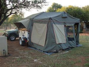 2015 Jurgens XT 65  Semi offroad  Camping trailer