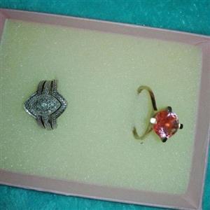 Wedding Ring and 18 Carat Gold Ring