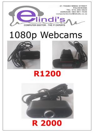 1080p Webcams