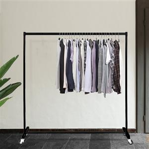 Clothing rail.
