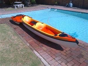 2-Seater Fishing Kayak For Sale.