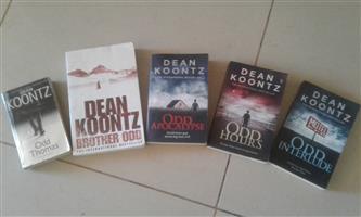 Dean Koontz book collection - Odd Thomas