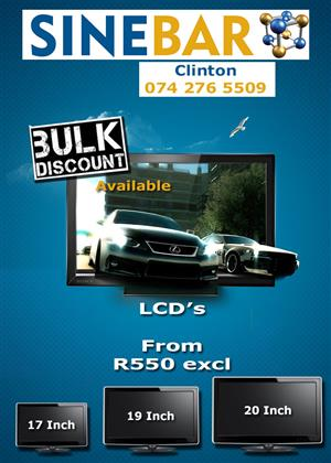 Amazing LCD Special
