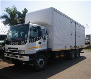 2010 Isuzu FTM 1200 T 6×2 Freighter Volume body used truck - AA2930