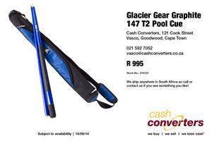 Glacier Gear Graphite 147 T2 Pool Cue